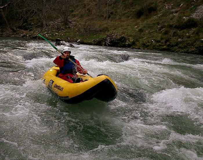 canoas rafting deva