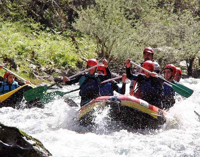 rafting rio deva